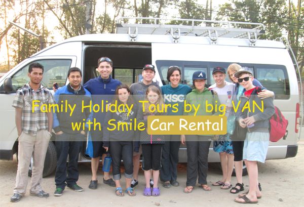 Rent a car for Family Holiday Tours in Nepal