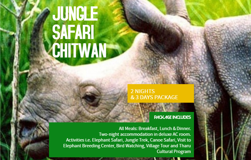 Chitwan Jungle Safari 3 Days Package