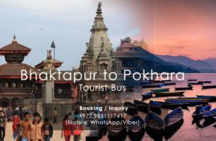 Bhaktapur Pokhara Tourist Bus Ticket Booking