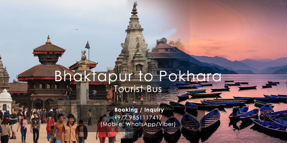 Bhaktapur Pokhara Tourist Bus Ticket Booking