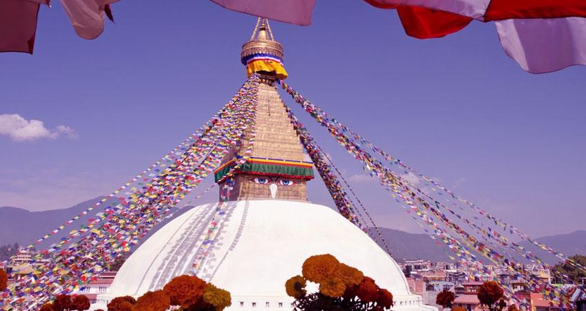 Boudhanath Stupa Sightseeing Kathmandu
