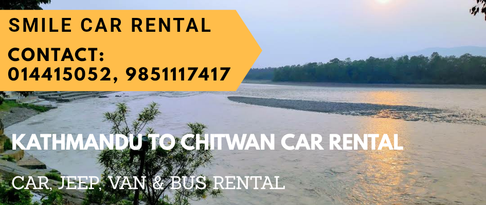 Kathmandu to Chitwan Car Rental