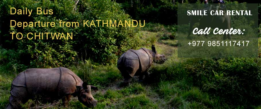 Kathmandu to Chitwan Tourist Bus Ticket Booking Service