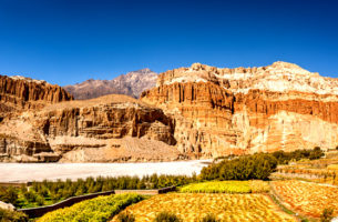 Kathmandu to Upper Mustang Jeep Rental