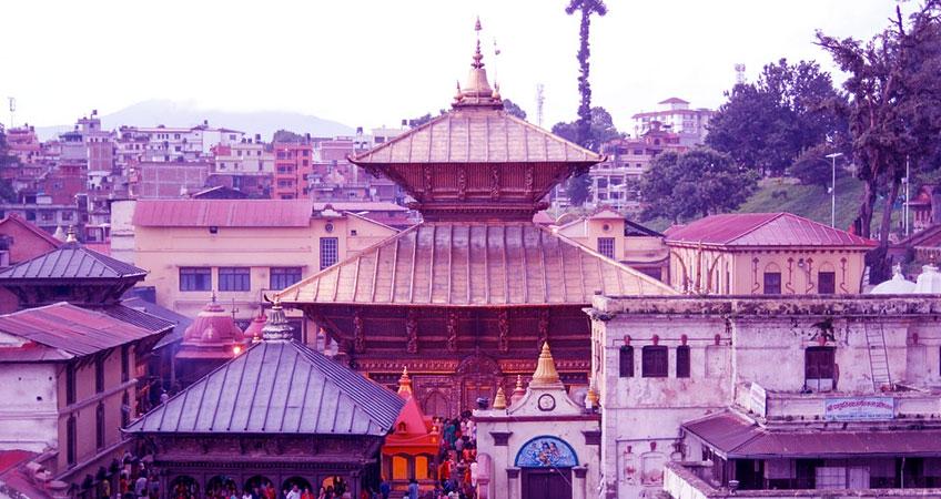 Pashupatinath Sightseeing Place Kathmandu