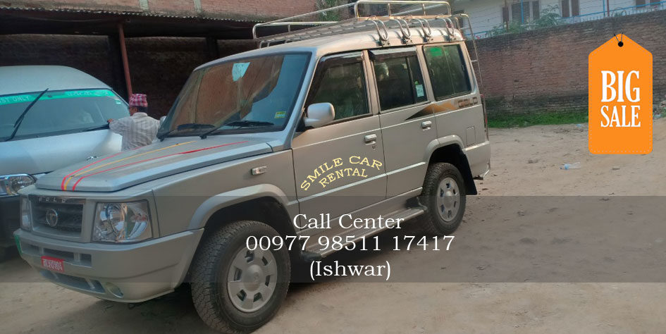Tata Sumo Jeep Hire Kathmandu Nepal