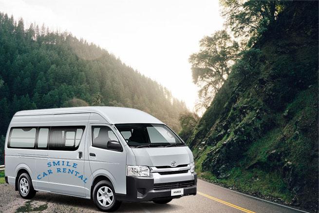 Van Rental in Pokhara, Toyota Hiace Van Rental in Pokhara